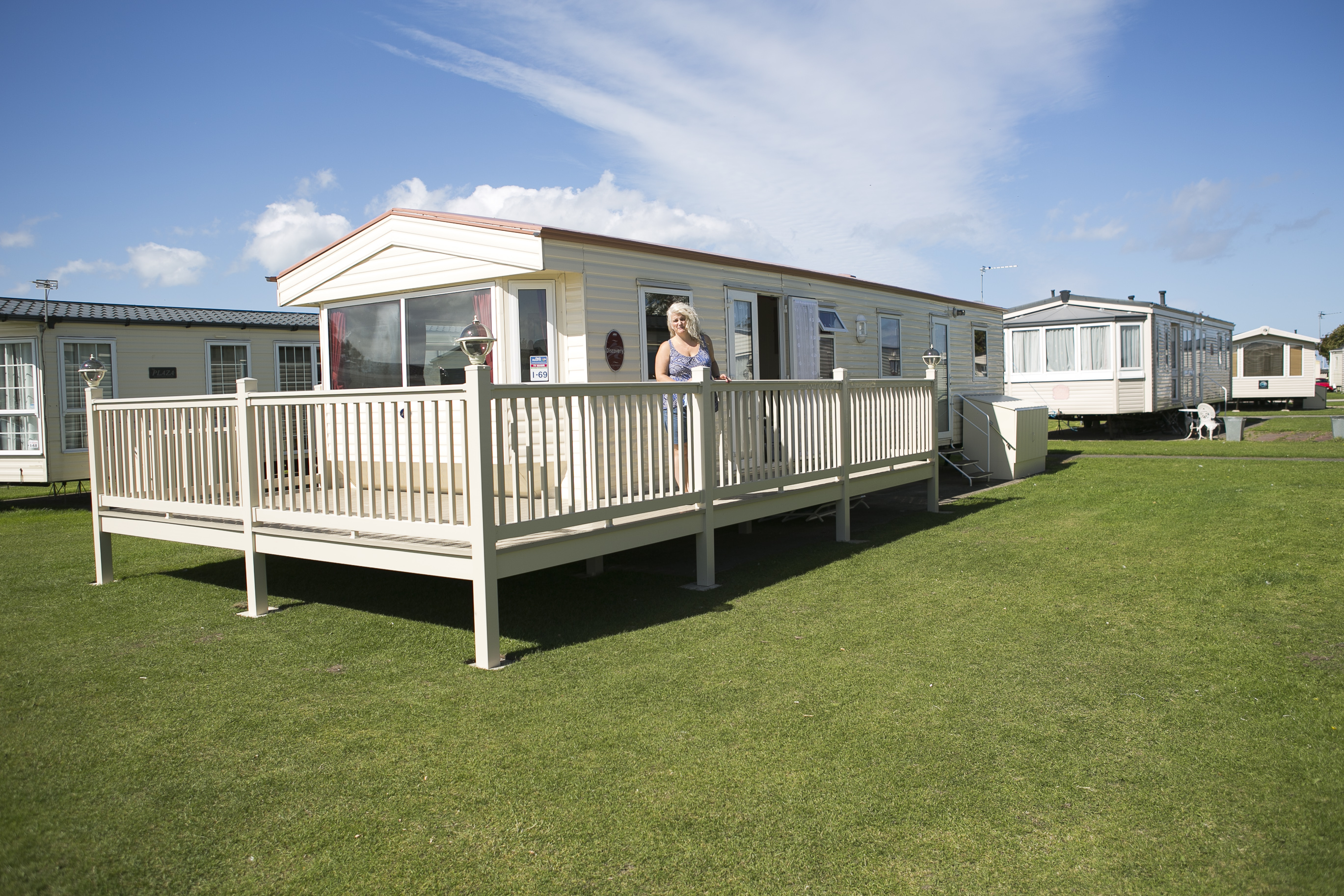 Innovative UK Private Static Caravan Hire At Ty Mawr Towyn Conwy North Wales